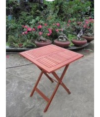 Eucalyptus Square Folding Bistro Table