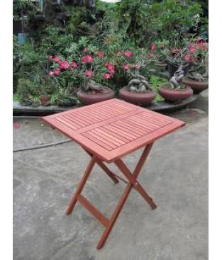 Eucalyptus Square Folding Bistro Table