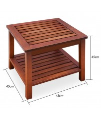 Side square table